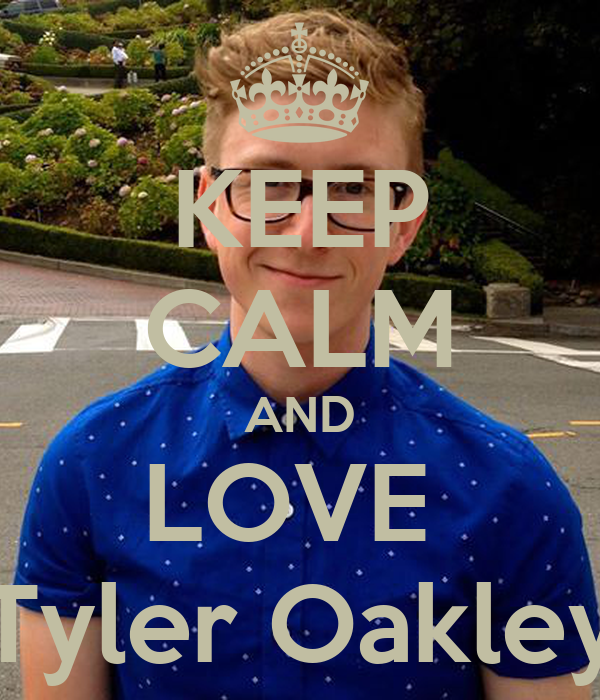 KEEP CALM AND LOVE  Tyler Oakley