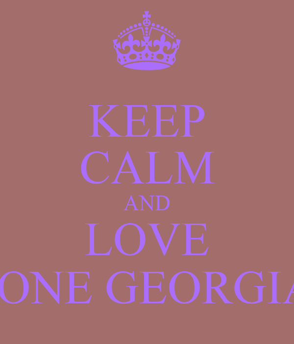 KEEP CALM AND LOVE TYRONE GEORGIADIS