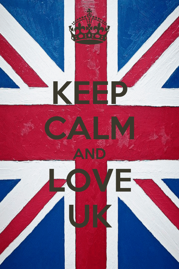 KEEP CALM AND LOVE UK