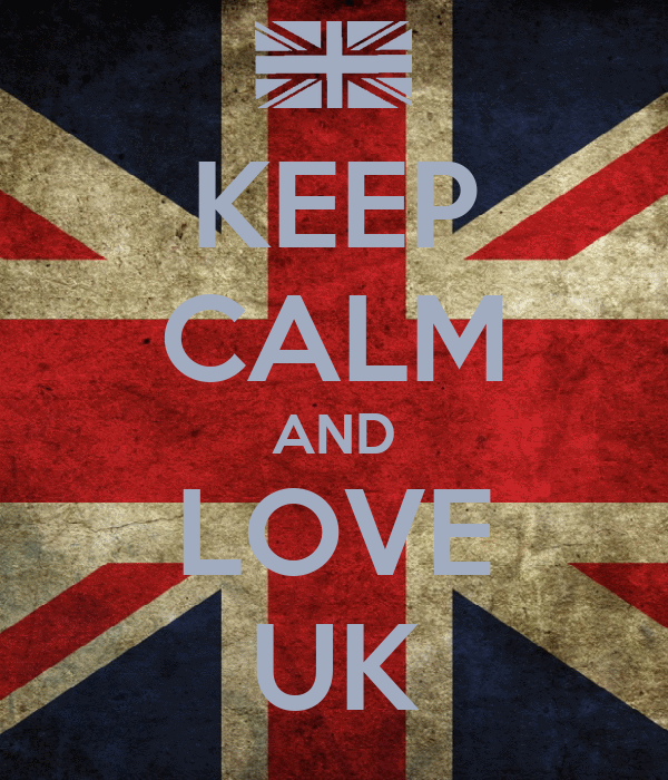 KEEP CALM AND LOVE UK