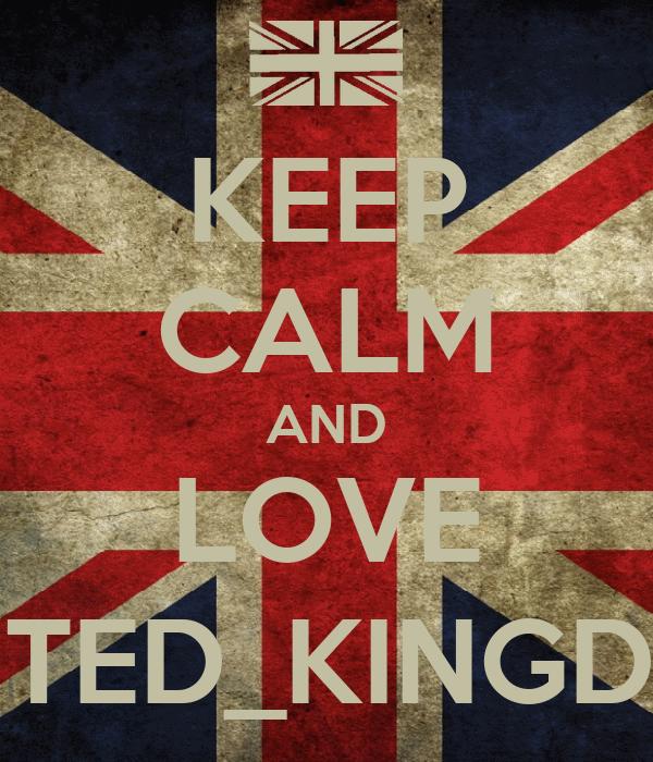 KEEP CALM AND LOVE UNITED_KINGDOM