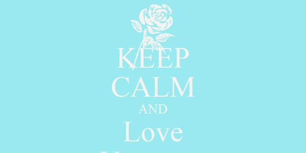 KEEP CALM AND Love Uzunma
