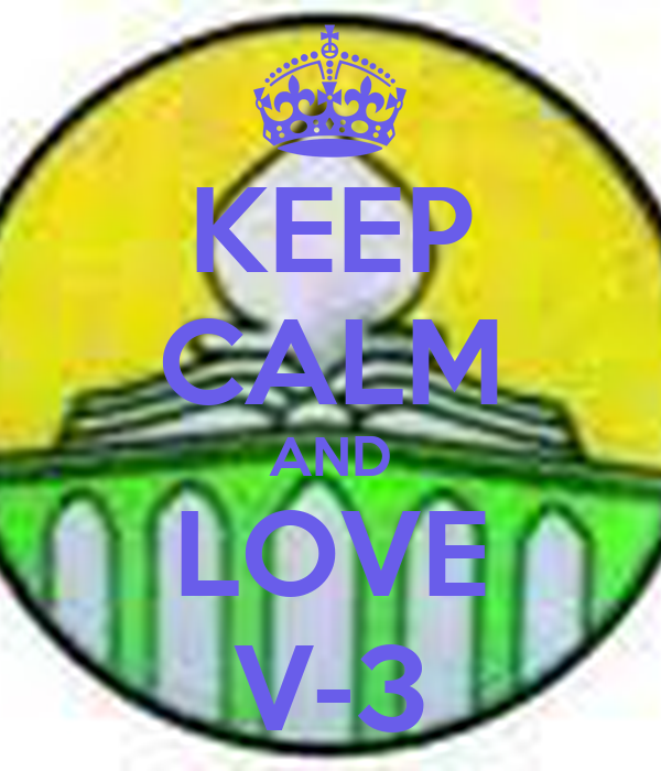 KEEP CALM AND LOVE V-3