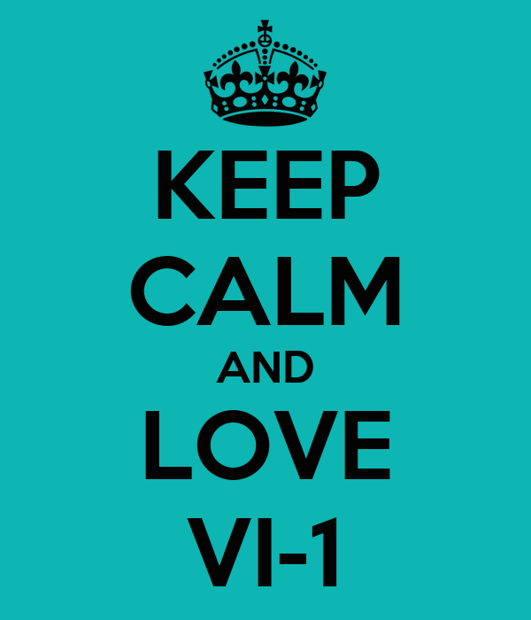 KEEP CALM AND LOVE VI-1