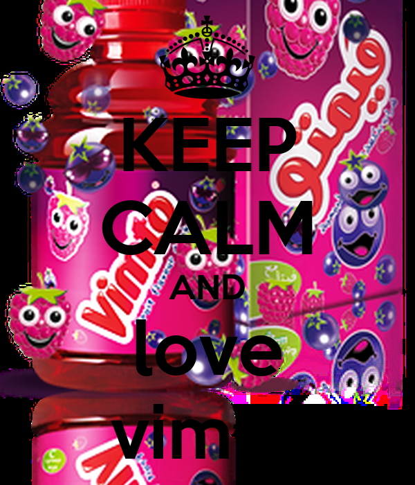 KEEP CALM AND love vimto