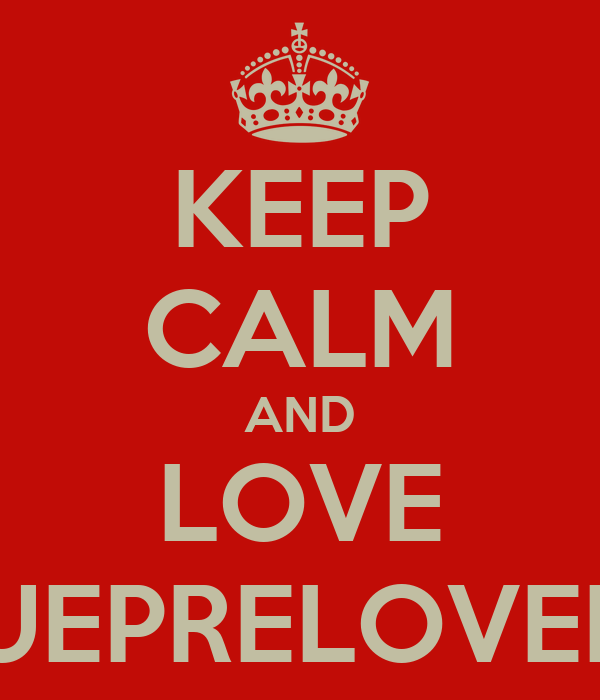 KEEP CALM AND LOVE VOGUEPRELOVEDBCD
