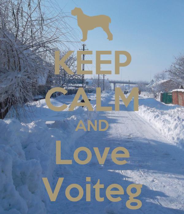 KEEP CALM AND Love Voiteg