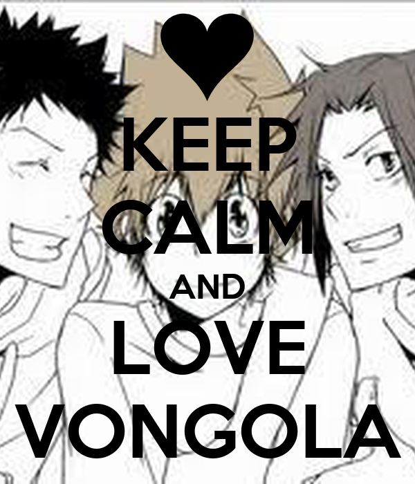 KEEP CALM AND LOVE VONGOLA
