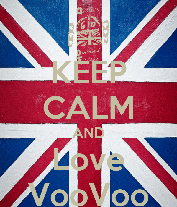 KEEP CALM AND Love VooVoo
