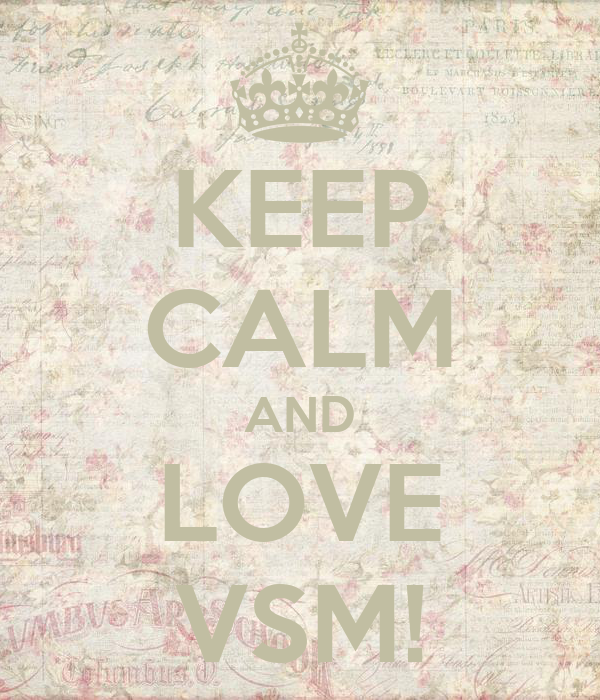 KEEP CALM AND LOVE VSM!
