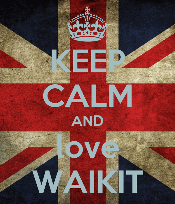 KEEP CALM AND love WAIKIT