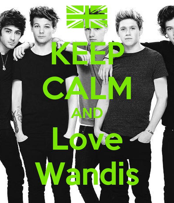 KEEP CALM AND Love Wandis