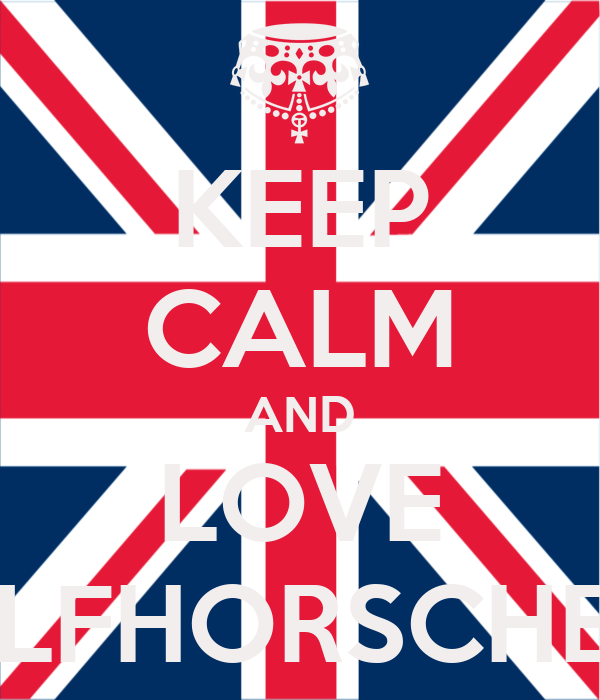 KEEP CALM AND LOVE WOLFHORSCHELLE