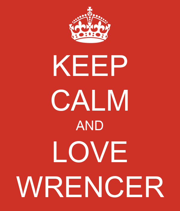 KEEP CALM AND LOVE WRENCER