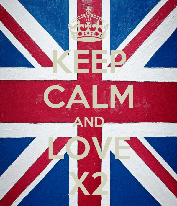 KEEP CALM AND LOVE X2
