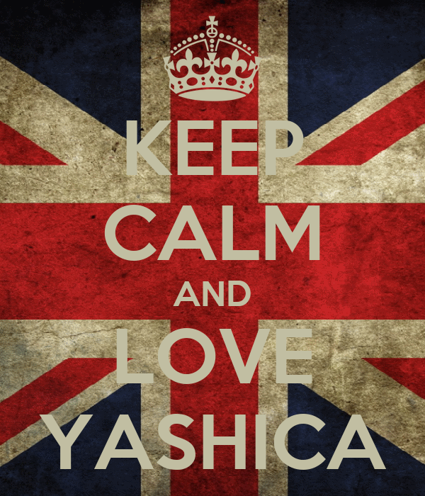 KEEP CALM AND LOVE YASHICA
