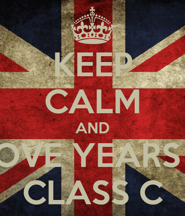 KEEP CALM AND LOVE YEARS 3 CLASS C