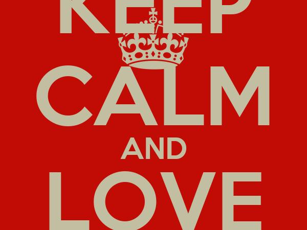 KEEP CALM AND LOVE YEMI