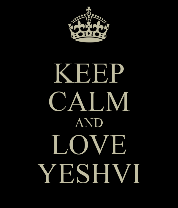 KEEP CALM AND LOVE YESHVI
