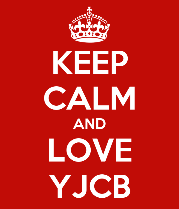 KEEP CALM AND LOVE YJCB