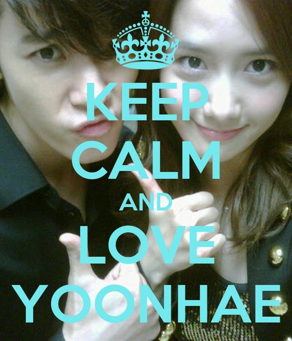 KEEP CALM AND LOVE YOONHAE
