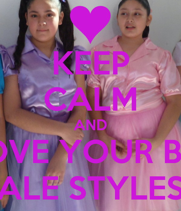 """KEEP CALM AND LOVE YOUR BFF """"ALE STYLES"""""""