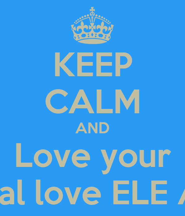 KEEP CALM AND Love your Interracial love ELE ADMINS