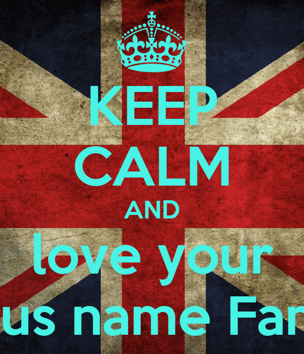 KEEP CALM AND love your Jesus name Family