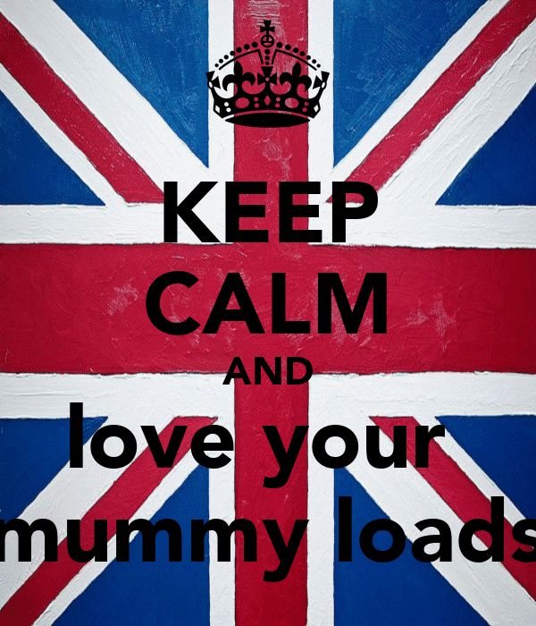 KEEP CALM AND love your  mummy loads