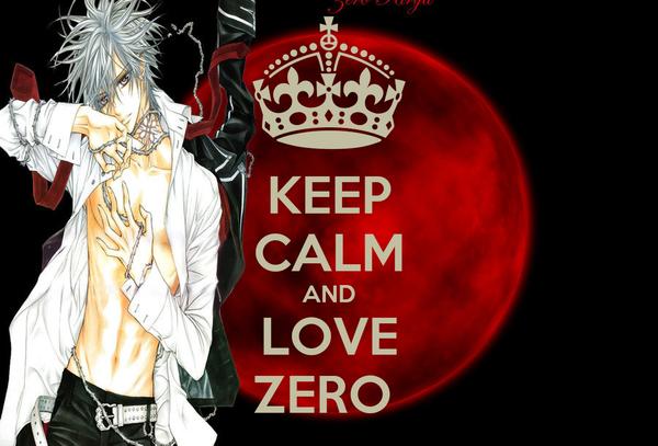 KEEP CALM AND LOVE ZERO