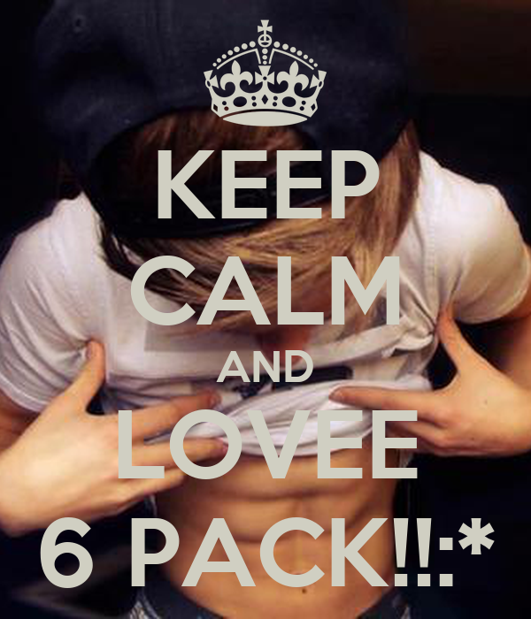 KEEP CALM AND LOVEE 6 PACK!!:*
