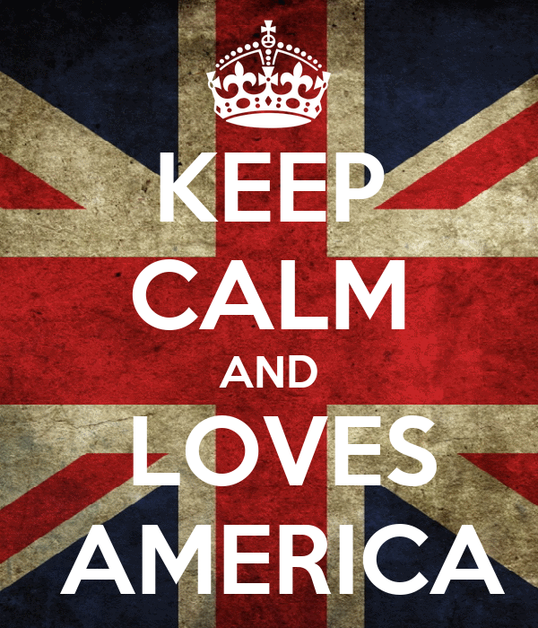 KEEP CALM AND  LOVES  AMERICA
