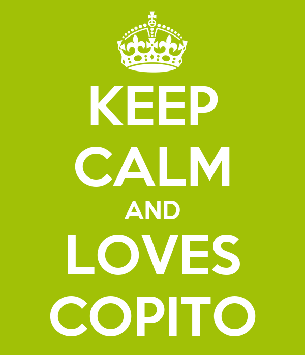 KEEP CALM AND LOVES COPITO