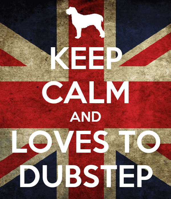 KEEP CALM AND LOVES TO DUBSTEP