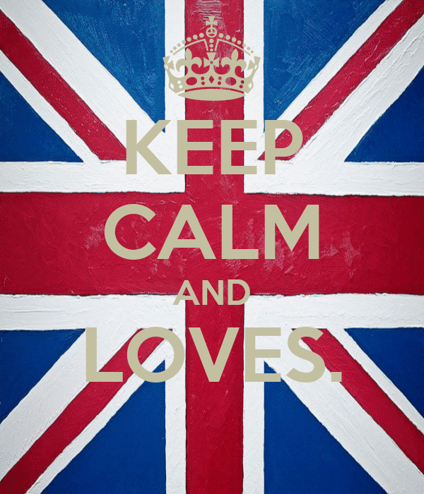 KEEP CALM AND LOVES.