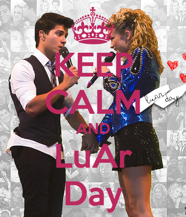 KEEP CALM AND LuAr Day