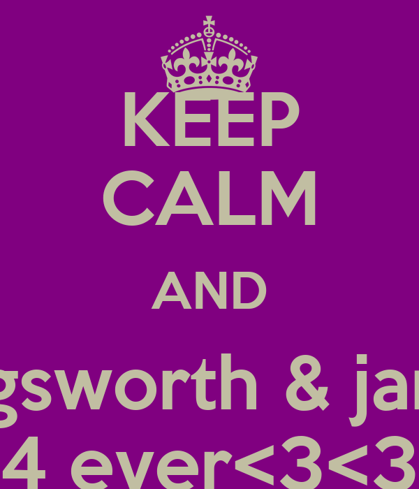 KEEP CALM AND lucy illingsworth & james dale 4 ever<3<3