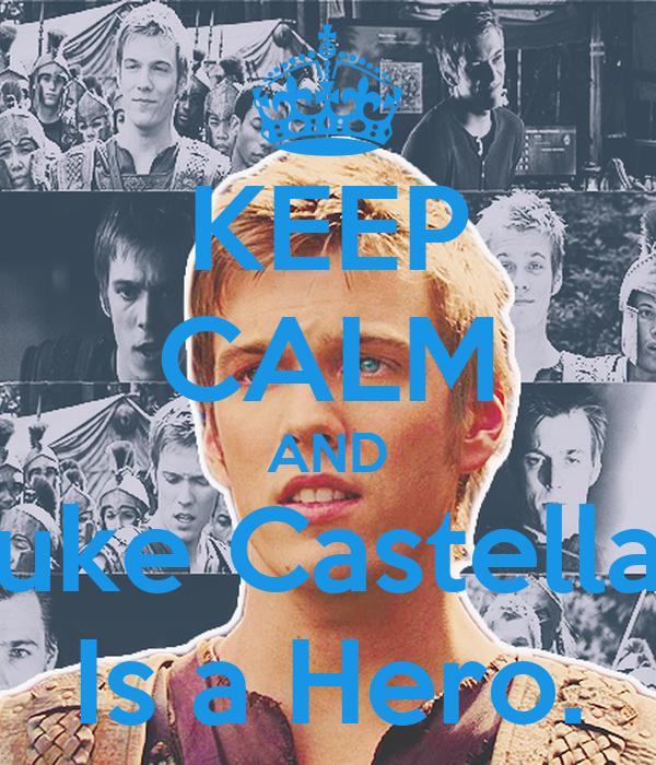 KEEP CALM AND Luke Castellan Is a Hero.