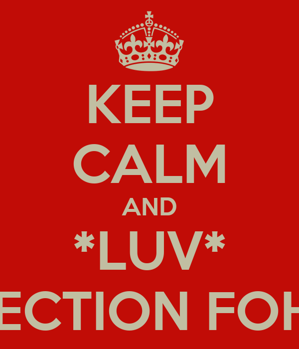 KEEP CALM AND *LUV* 1 DIRECTION FOH LYF