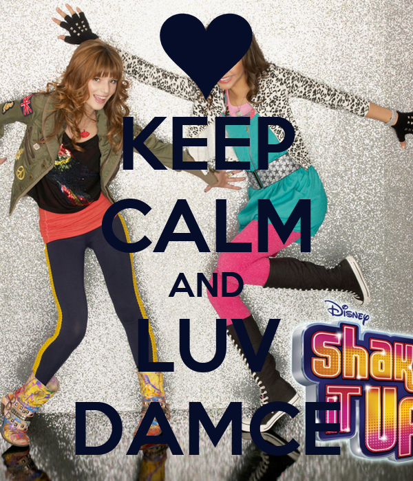 KEEP CALM AND LUV DAMCE