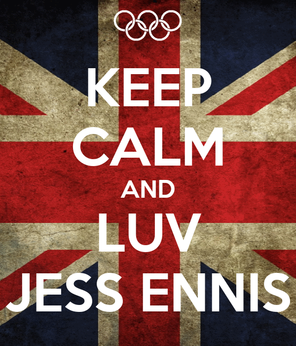 KEEP CALM AND LUV JESS ENNIS