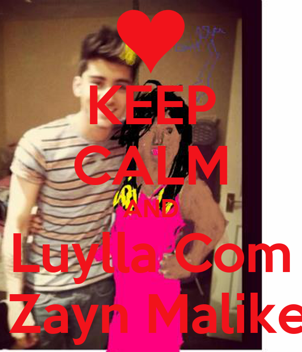 KEEP CALM AND Luylla Com  Zayn Malike