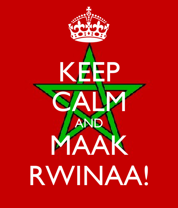 KEEP CALM AND MAAK RWINAA!