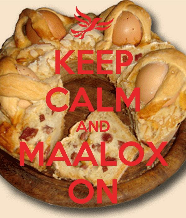 KEEP CALM AND MAALOX ON