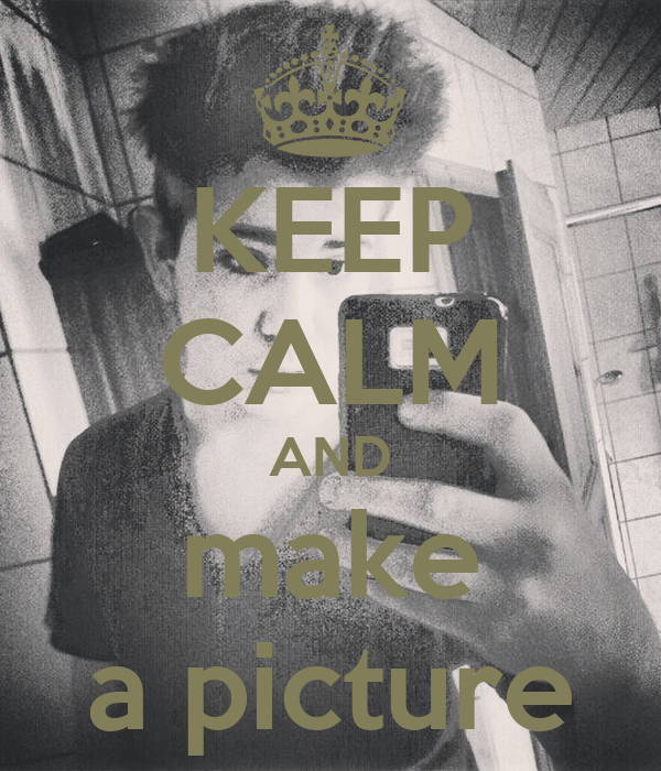 how to make keep calm pictures in photoshop