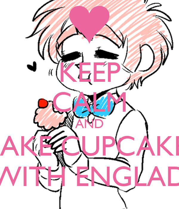 KEEP CALM AND MAKE CUPCAKES WITH ENGLAD