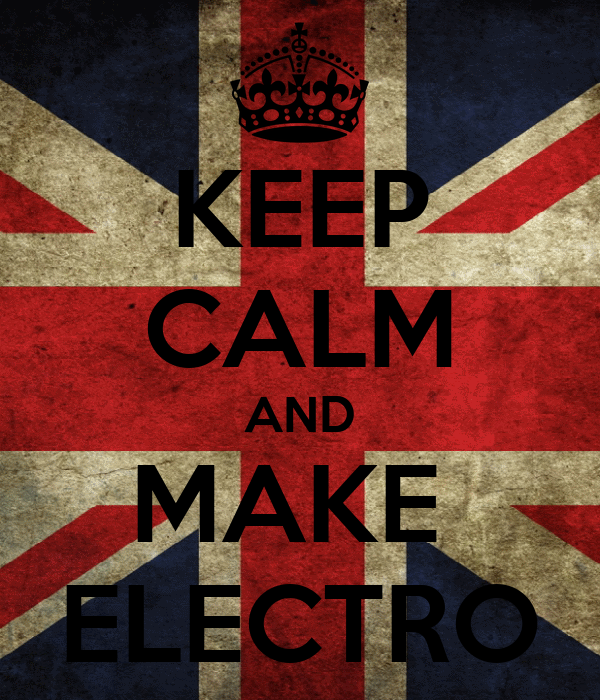KEEP CALM AND MAKE  ELECTRO