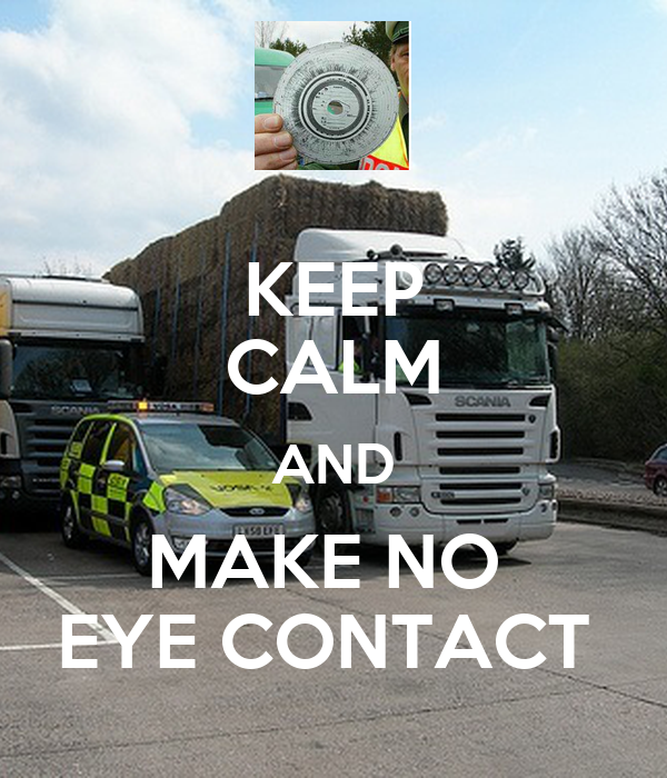how to keep eye contact