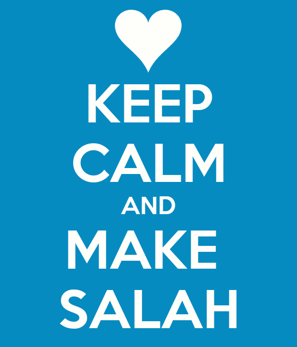 KEEP CALM AND MAKE  SALAH