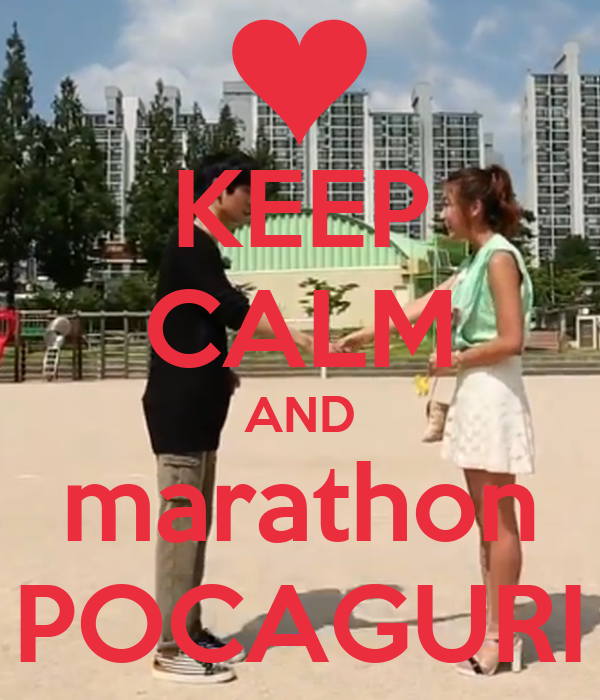 KEEP CALM AND marathon POCAGURI